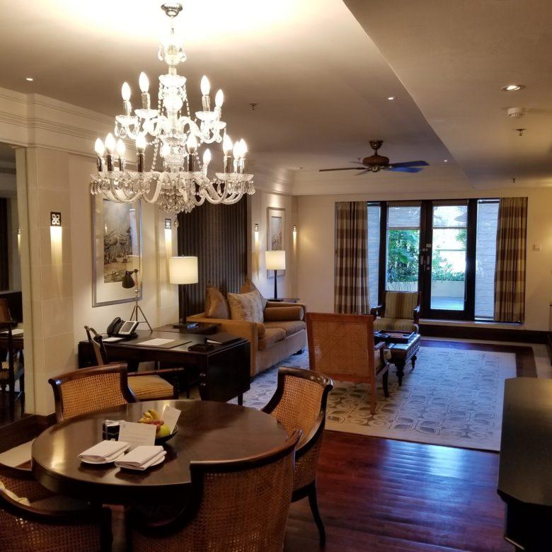 セントレジスバリ バリ島 最高級ホテル オーキッドエグゼクティブスイート