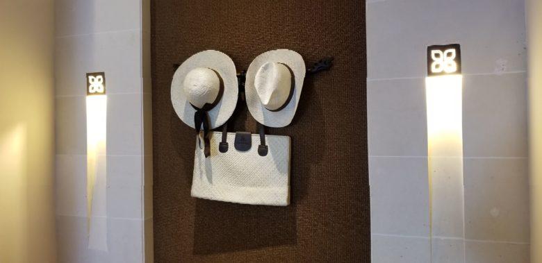 セントレジスバリ バリ島 最高級ホテル SPGアメックス ポイント 無料宿泊 マリオット オーキッドエグゼクティブスイート 帽子 バッグ