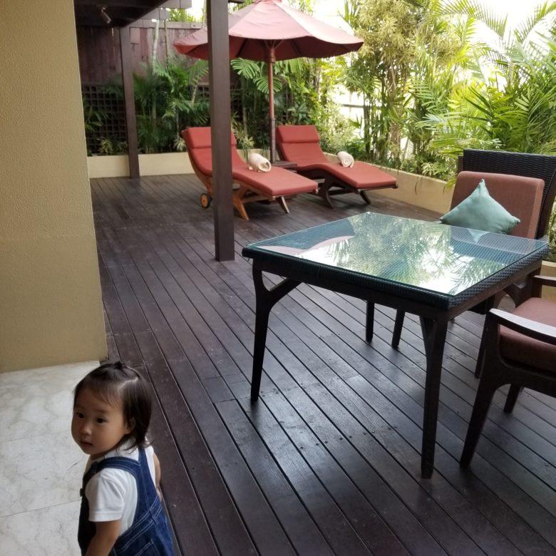 セントレジスバリ バリ島 最高級ホテル SPGアメックス ポイント 無料宿泊 マリオット オーキッドエグゼクティブスイート テラス