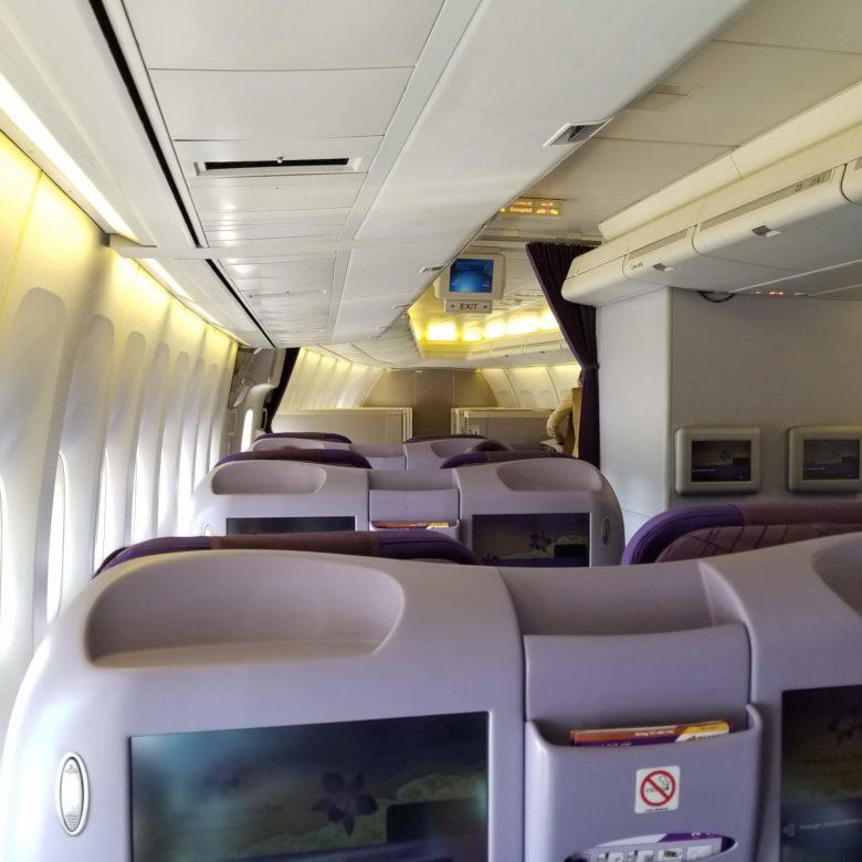 タイ航空 ロイヤルシルククラス ビジネスクラス ANAマイル スターアライアンス SFC ファーストクラス