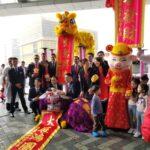 リッツカールトン香港の春節イベントのホテル関係者の集合写真