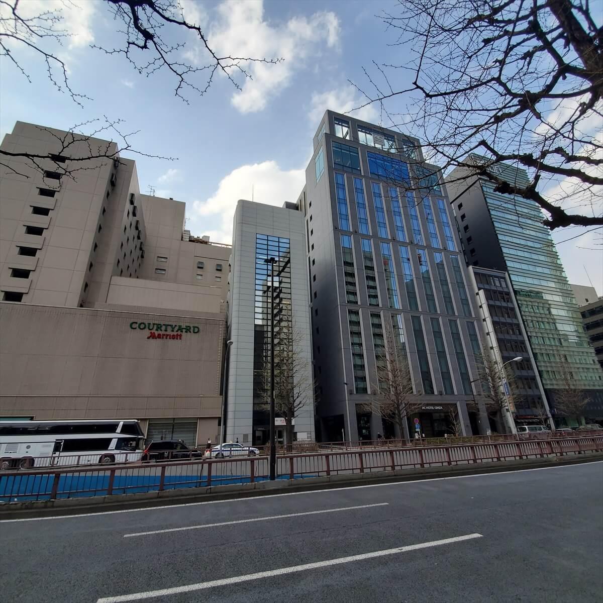 ACホテル銀座とアロフト銀座とコートヤード銀座東武