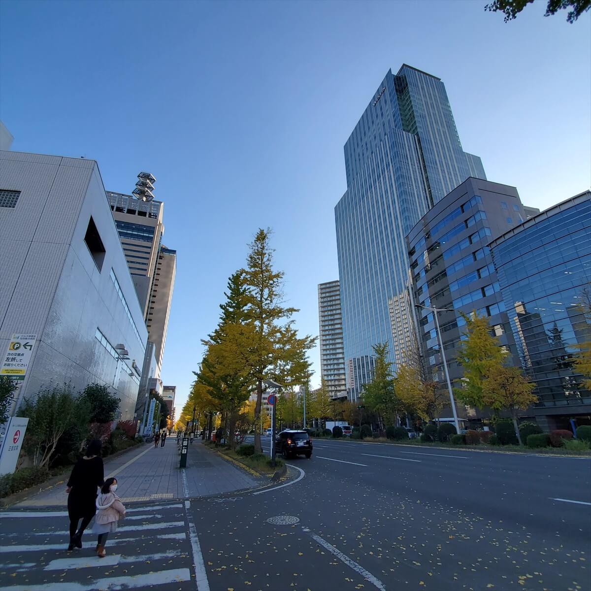 ウェスティンホテル仙台の入っている仙台トラストタワー
